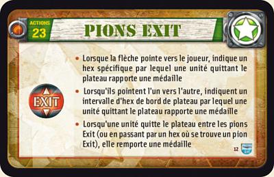 Pions Exit