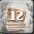 12 tickets poinçonnés